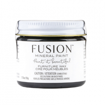 Furniture wax black fusion mineral paint goed gestyled brielle