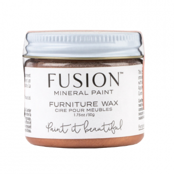 Furniture wax copper fusion mineral paint goed gestyled brielle