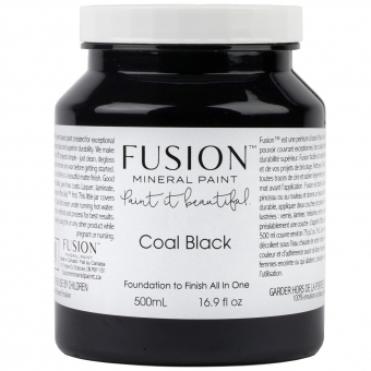 Coal Black Fusion Minerail Paint Goed Gestyled