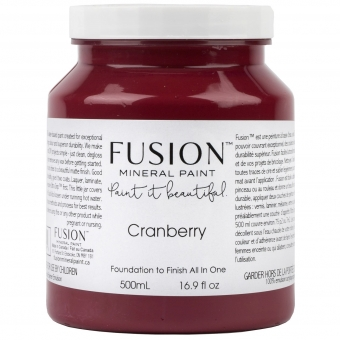 Cranberry fusion mineral paint Goed Gestyled Brielle