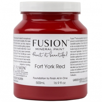 Fort York Red Fusion Minerail Paint Goed Gestyled Brielle