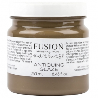 Antiquing Glaze Fusion Mineral Paint Goed Gestyled Brielle