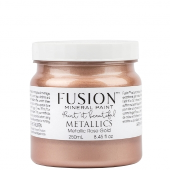 Rose Gold metallic Fusion Mineral Paint Goed Gestyled Brielle