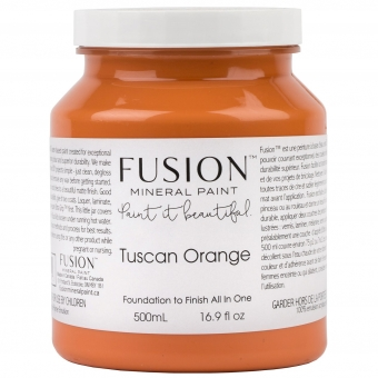 Tuscan Orange fusion mineral paint Goed Gestyled Brielle