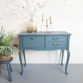 sidetable kastje homestead blue fusion mineral paint goed gestyled brielle