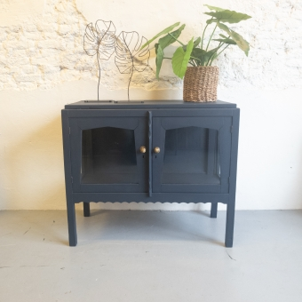 Theekastje Midnight Blue Fusion Mineral Paint Goed Gestyled Brielle