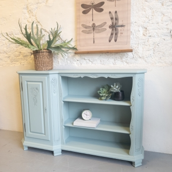 Frans boekenkastje  fusion mineral paint French Eggshell Goed Gestyled Brielle