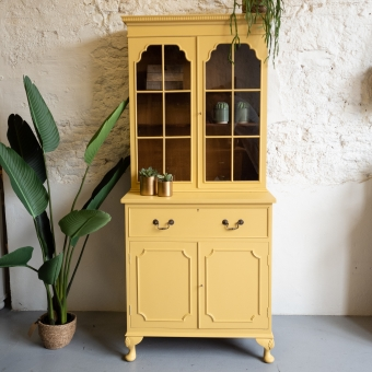 Buffetkast met secretaire Prairie Sunset Goed Gestyled brielle meubels opknappen Fusion Mineral Paint