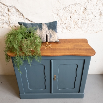commode dressoir goed gestyled brielle, home stead blue fusion mineral paint.