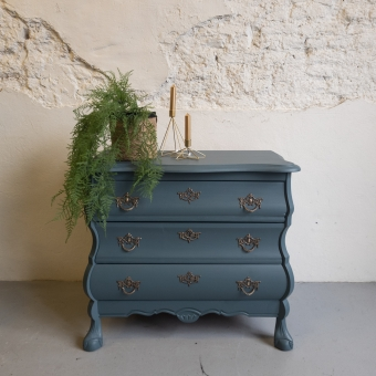 Buikkastje homestead blue fusion mineral paint Goed Gestyled brielle