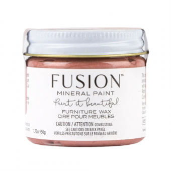Furniture wax Rose Gold fusion mineral paint goed gestyled brielle