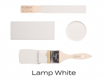 Lamp White Fusion Minerail paint Goed Gestyled Brielle