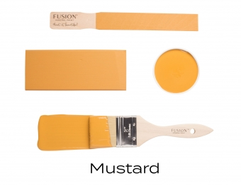 Mustard Fusion Minerail Paint Goed Gestyled Brielle