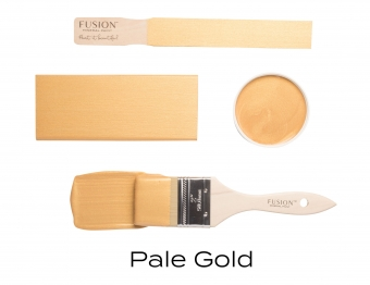 Pale gold metallic Fusion Mineral Paint Goed Gestyled Brielle
